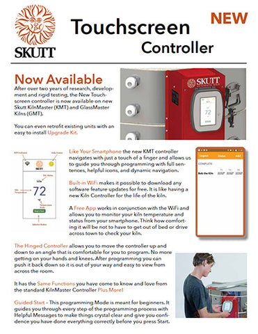 Skutt KMT Touchscreen Controller Spec Sheet