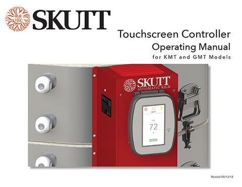 Skutt KMT Touchscreen Instruction Manual