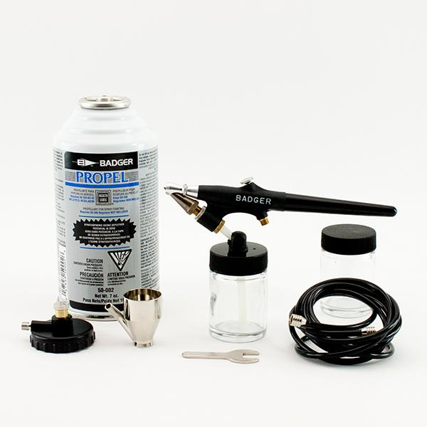 Badger Model 350 Medium Line Airbrush Set