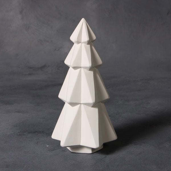 Mayco Earthenware Bisque - MB1497 Faceted Tree – 7""