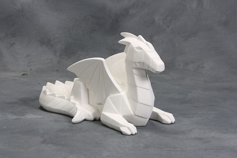 Mayco Earthenware Bisque - MB1547 Faceted Dragon