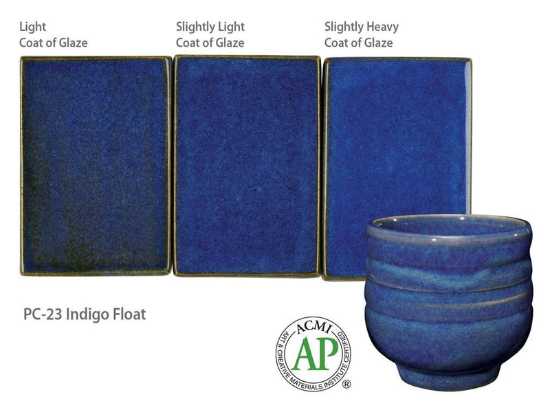 AMACO – Cone 5/6 - PC-23 Indigo Float Cone 6