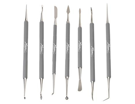 Xiem, Stainless Sgrafitto & Detailing Tools with Double Ends (7 Set)