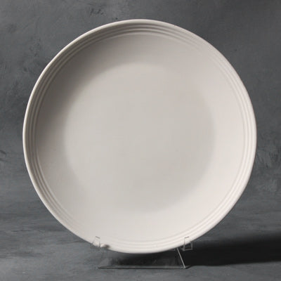 Mayco Stoneware Bisque - SB104 Rimmed Salad Plate