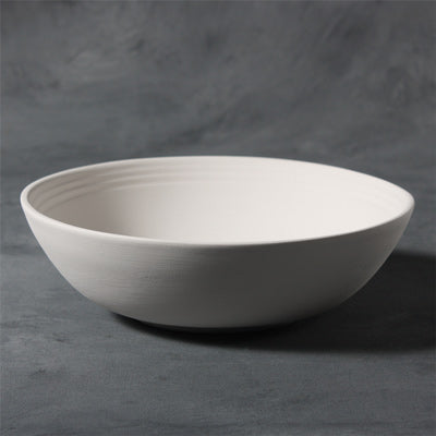 "Mayco Stoneware Bisque - SB119 9"" Serving Bowl"
