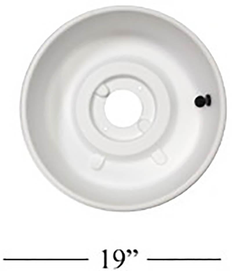 Shimpo RK-2 Parts – 1 PC Splash Pan (SMALL)