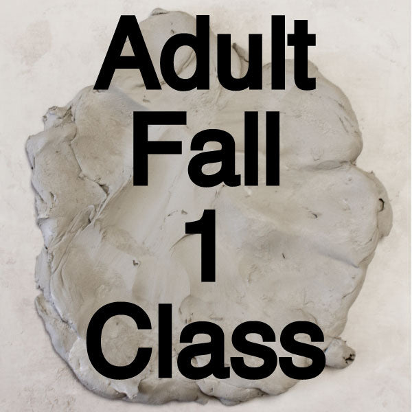 Fall 1 Adult Pottery Classes