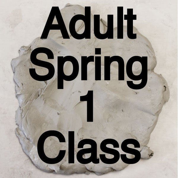 Spring 1 Adult Pottery Classes