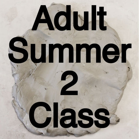 Summer Adult Pottery Classes