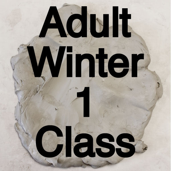 Winter 1 Adult Pottery Classes