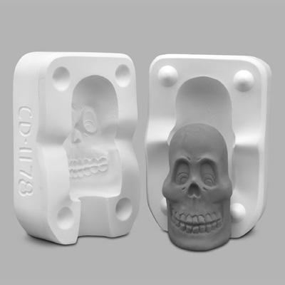 Mayco - Castable Slip Cast Mold – CD1178 – Skull
