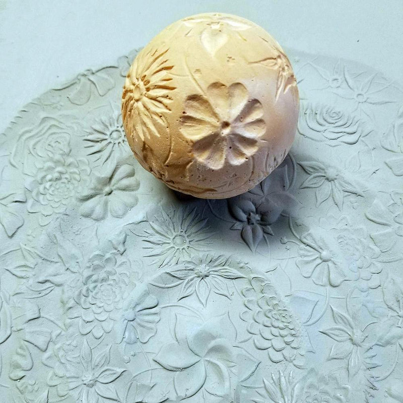 Clay Planet Texture Sphere – Flowers