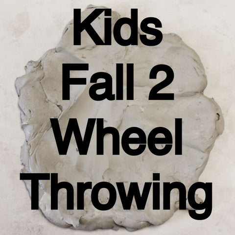 Kids Fall 2 Classes