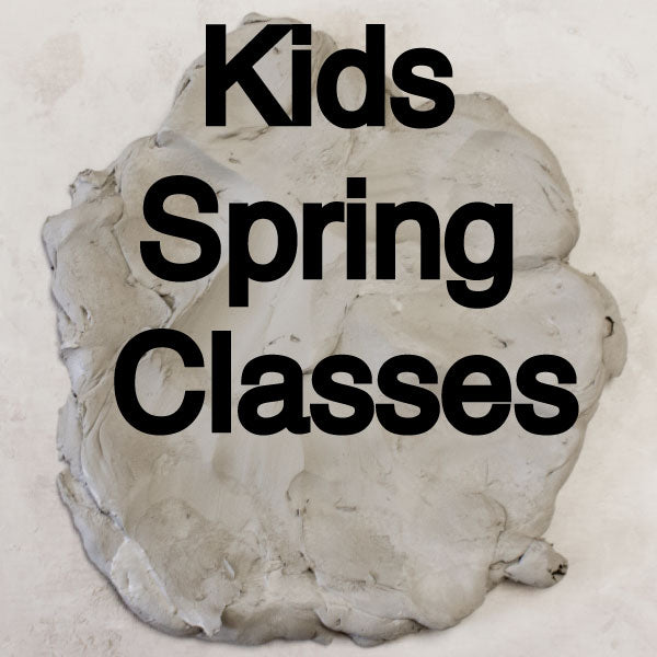 Spring Kids Wheel Throwing Class
