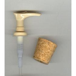 Soap Pump – Tan with Cork