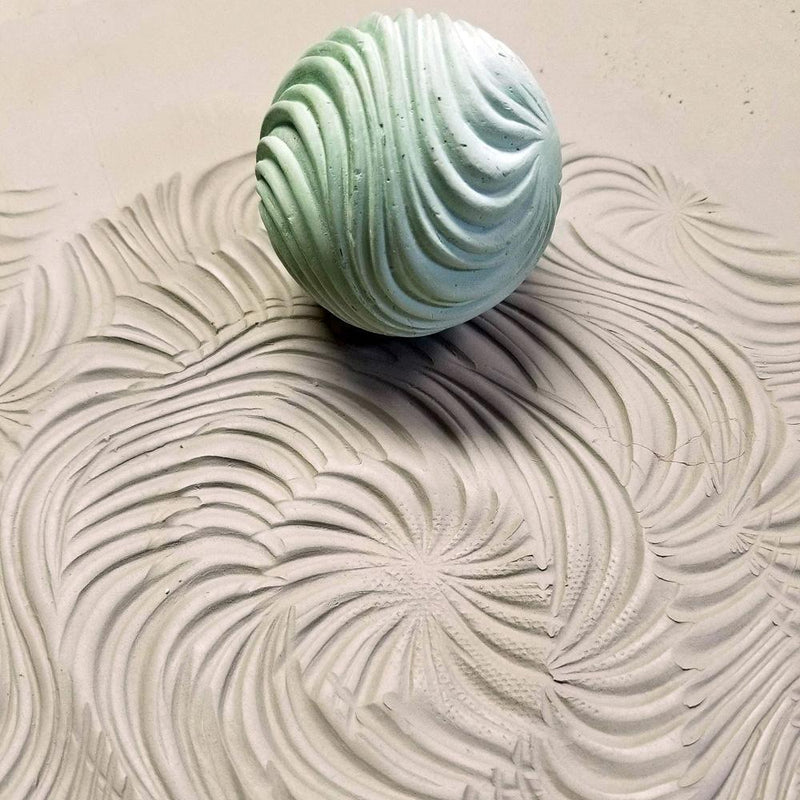 Clay Planet Texture Sphere – Swirls
