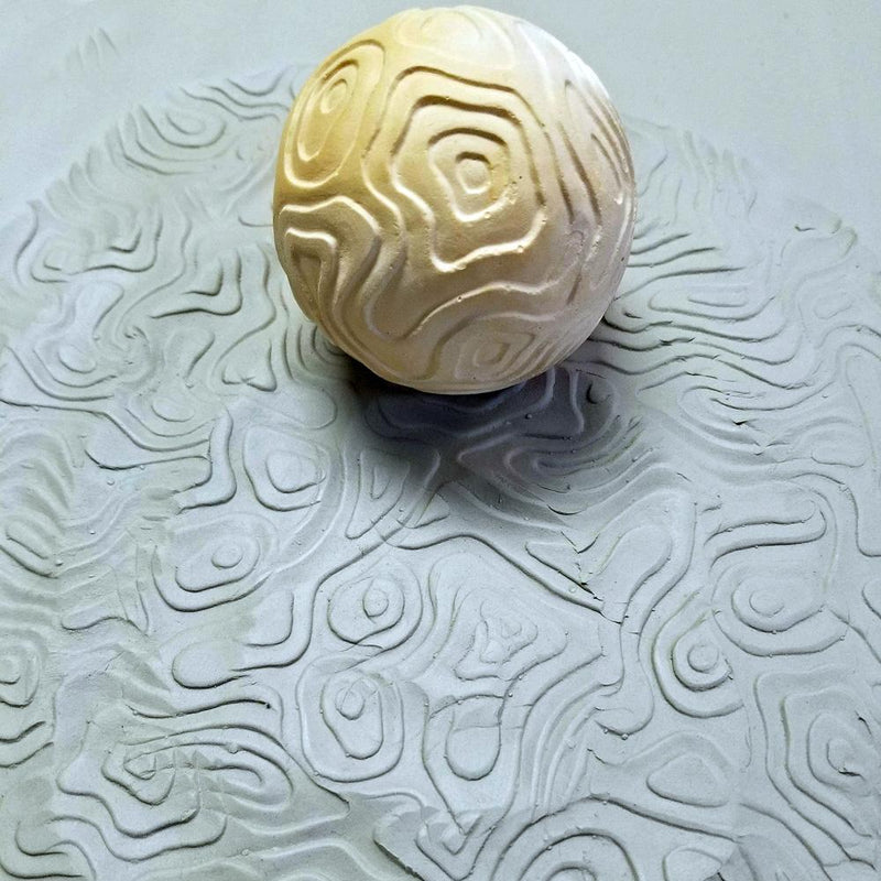 Clay Planet Texture Sphere – Topography