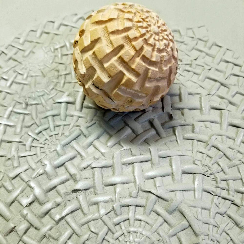 Clay Planet Texture Sphere – Weave
