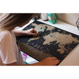 Scratch Off World Map Poster - ProsperousNomad.com