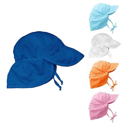 Solid Flap Sun Protection Hat - Toddler - ProsperousNomad.com