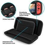Switch Carrying Case  - 20 Game Cartridges Protective Carrying Case for Nintendo Switch Console & Accessories - ProsperousNomad.com
