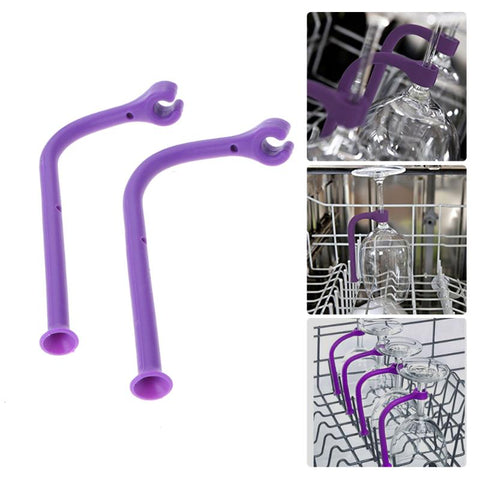 WineSafe™ The Worlds First Wine glass Dishwasher Holder - ProsperousNomad.com