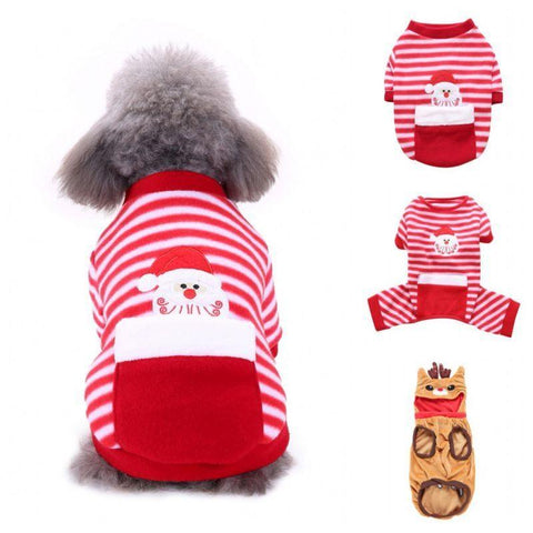 Holiday Dog Pajamas - ProsperousNomad.com