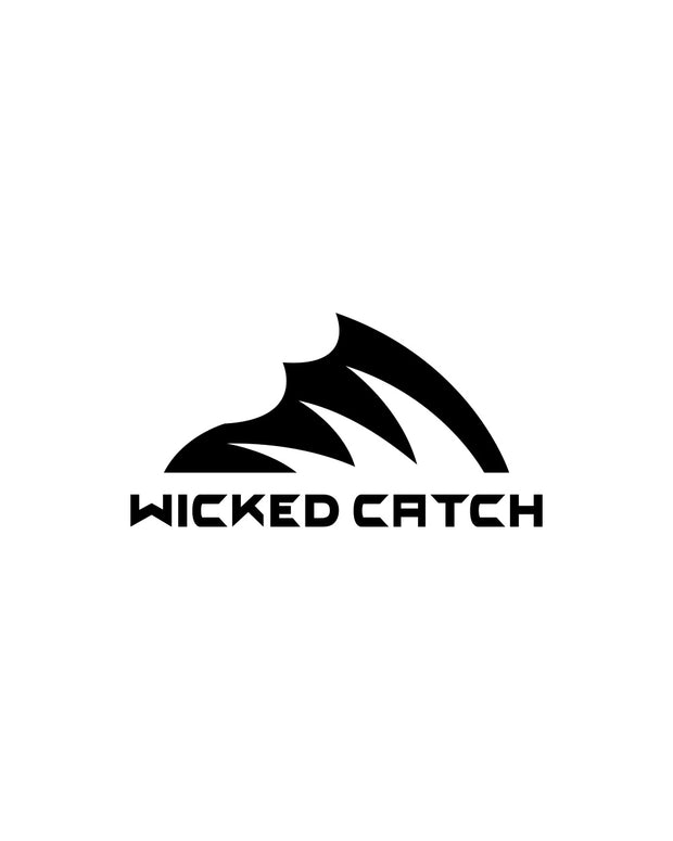 Wicked Catch Iconic black decal