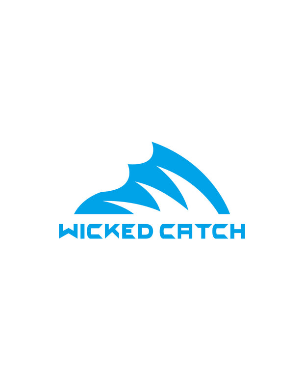 Wicked Catch Iconic shallow blue decal