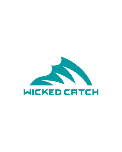 Wicked Catch Iconic teal decal