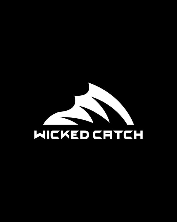 Wicked Catch Iconic white decal