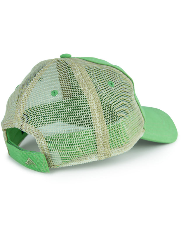 WC Logo - Mahi: Wicked Catch trucker fishing hat - back
