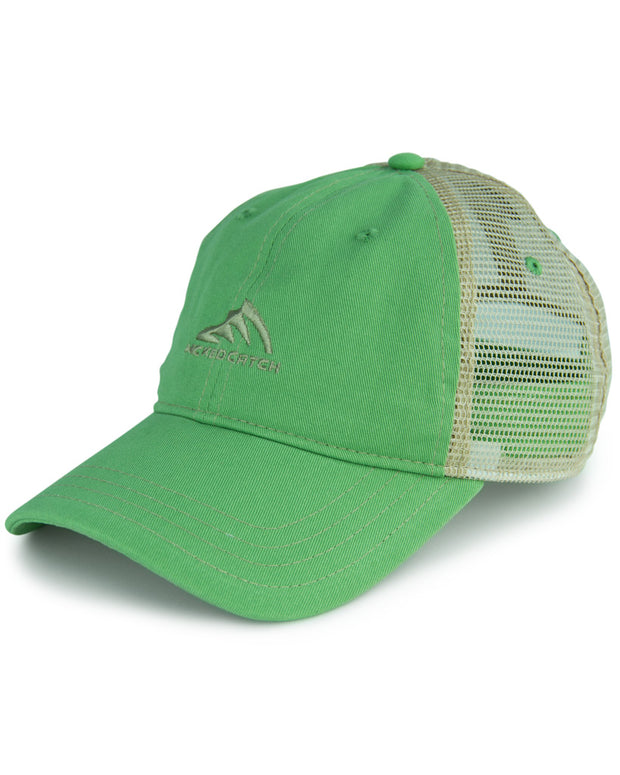 WC Logo - Mahi: Wicked Catch trucker fishing hat - front