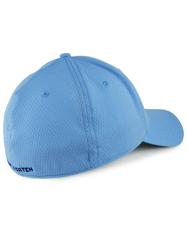WC logo WICKEDHEX carolina stretch fit cap - back