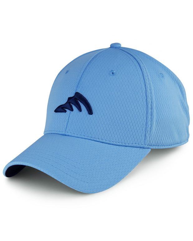 WC logo WICKEDHEX carolina stretch fit cap - front