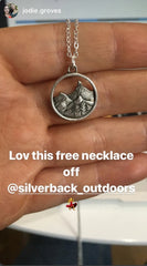 Free Mountain Necklace
