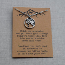 Load image into Gallery viewer, Climber Life Pendant Necklace
