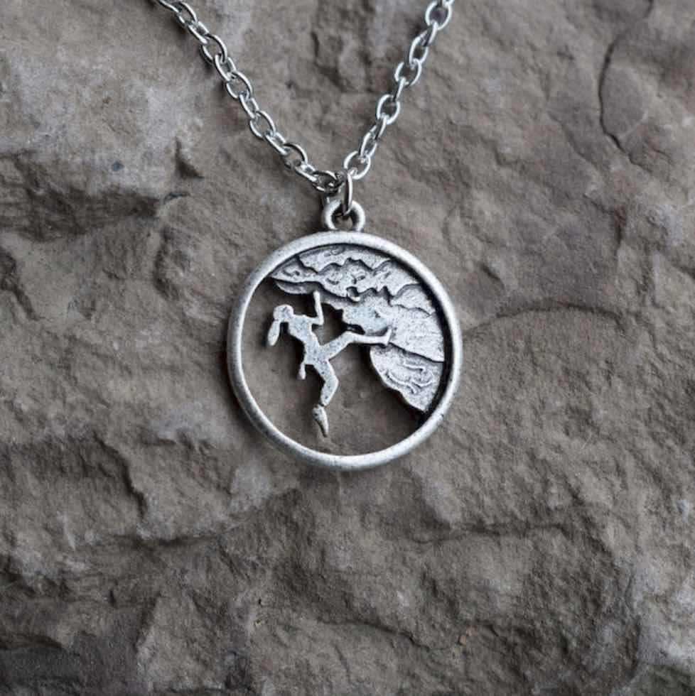 Climber Life Pendant Necklace (New)