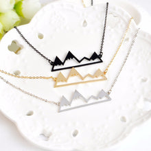 Load image into Gallery viewer, Mountain Range Necklace