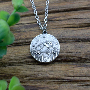 Road to Adventure Pendant Necklace