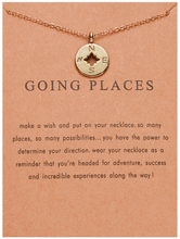 Load image into Gallery viewer, Compass Charm Necklace