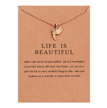 Load image into Gallery viewer, Swift Hummingbird Necklace