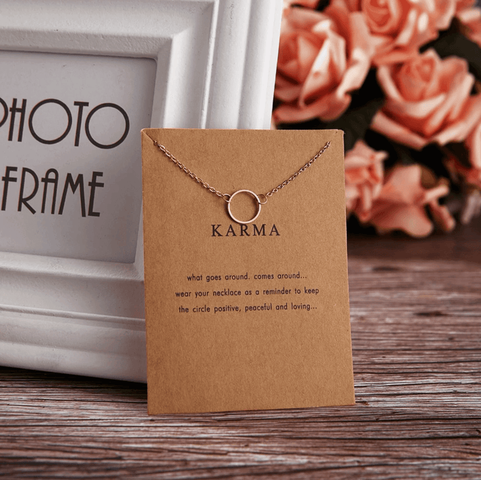 Positive Karma Necklace