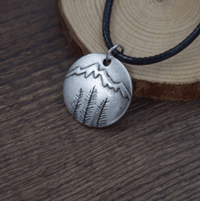 Load image into Gallery viewer, Forest View Pendant Necklace