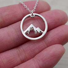 Load image into Gallery viewer, Mountain Charm Necklace