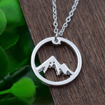 Mountain Charm Necklace