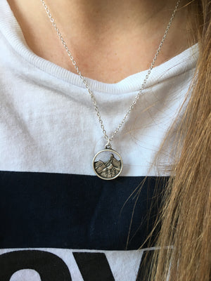 The Original Mountain Necklace