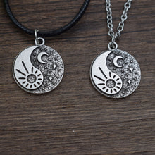Load image into Gallery viewer, Day & Night Pendant Necklace