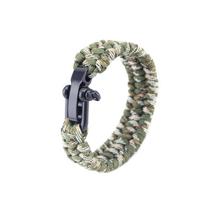 Paracord Bracelet with Adjustable Clasp