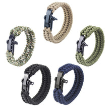 Load image into Gallery viewer, Paracord Bracelet with Adjustable Clasp